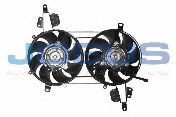Вентилятор, охлаждение двигателя J.DEUS EV810800
