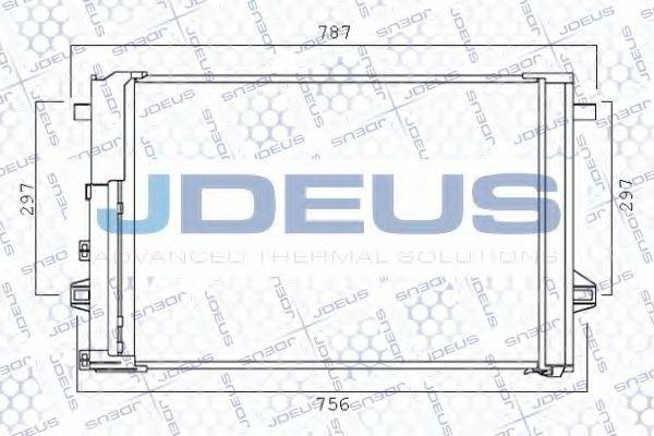 Конденсатор, кондиционер J.DEUS 717M86
