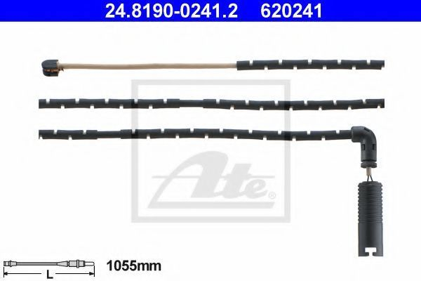 Датчик износа тормозных колодок ATE 24.8190-0241.2