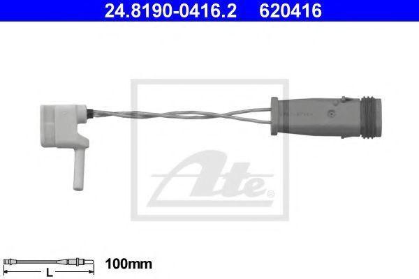 Датчик износа тормозных колодок ATE 24.8190-0416.2