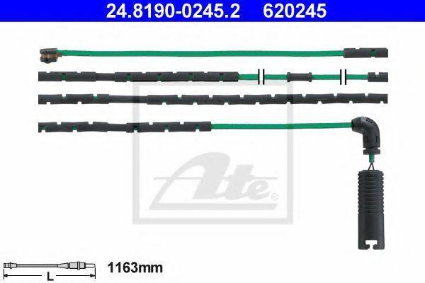 Датчик износа тормозных колодок ATE 24.8190-0245.2