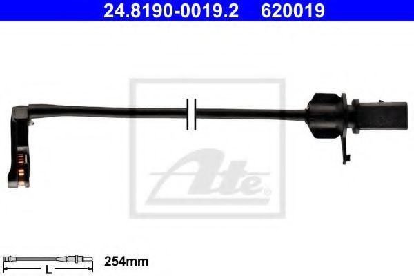 Датчик износа тормозных колодок ATE 24.8190-0019.2
