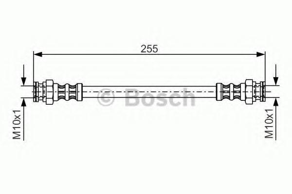 Тормозной шланг BOSCH 1987476954
