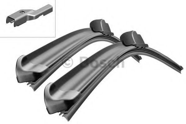 Щетки стеклоочистителя комплект AeroTwin A051S 530/530мм BOSCH 3397009051