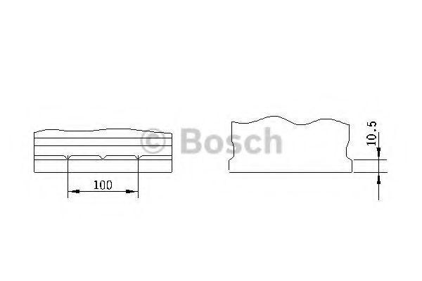 Изображение Аккумулятор S3 45Ач 300A BOSCH 0 092 S30 160: цена