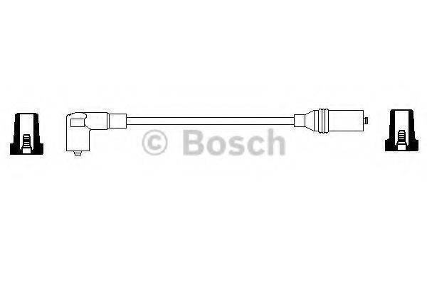 Провода высоковольтные комплект BOSCH 0356904060