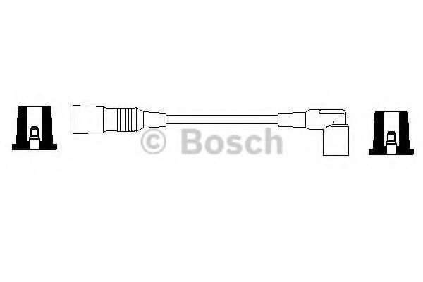 Провода высоковольтные комплект BOSCH 0356904065