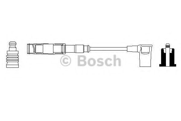 Провод высоковольтный BOSCH 0356912906