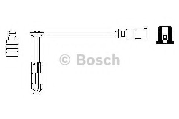 Пpовод высоковольтный BOSCH 0356912982