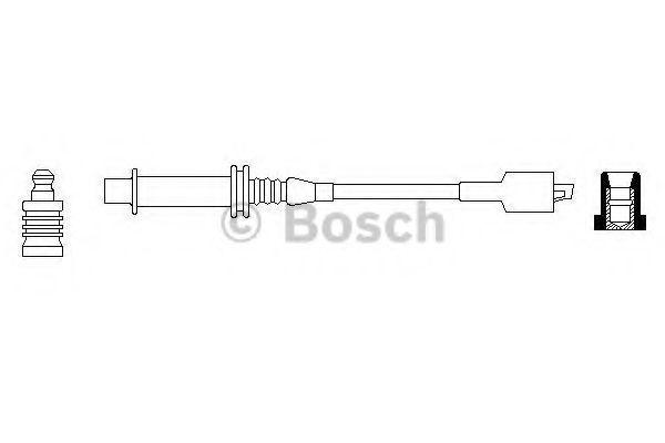 Провод зажигания BOSCH 0986356069