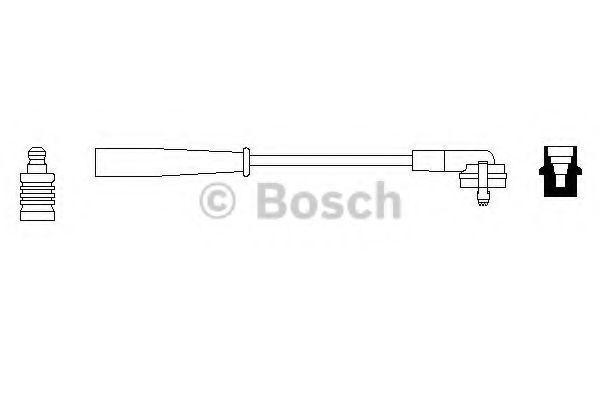 Провод зажигания BOSCH 0986356104