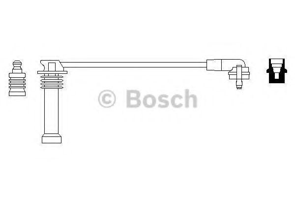 Провод высоковольтный BOSCH 0986356148
