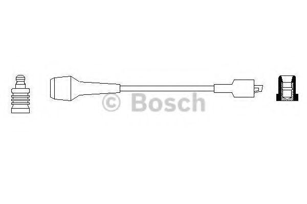 Провод зажигания BOSCH 0986356210