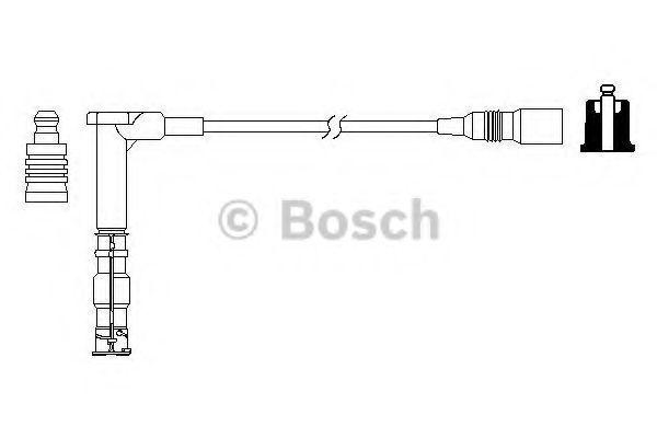 Провода высоковольтные комплект BOSCH 0986357709