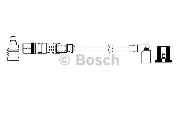 Провод высоковольтный BOSCH 0986357729