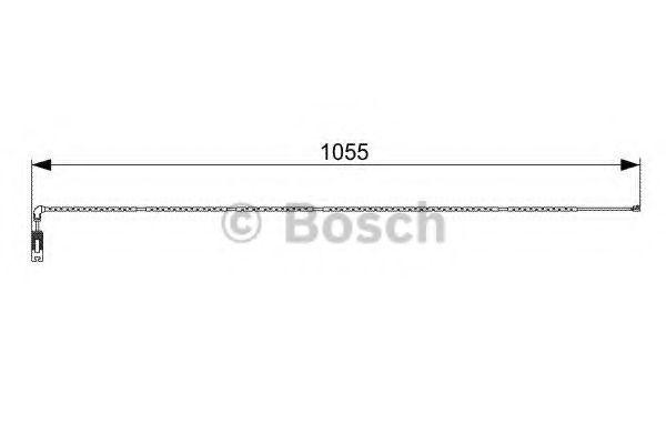 Датчик износа тормозных колодок BOSCH 1987473001