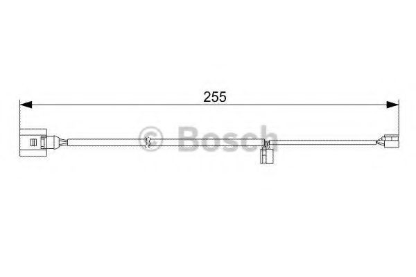 Датчик износа тормозных колодок BOSCH 1987473013
