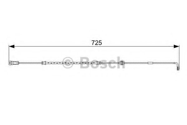 Датчик износа тормозных колодок BOSCH 1987473017