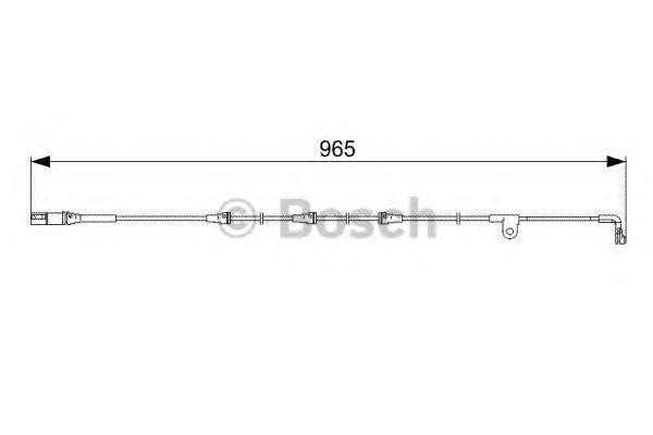 Датчик износа тормозных колодок BOSCH 1987473027