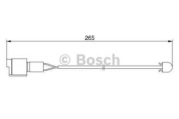 Датчик износа тормозных колодок BOSCH 1987474904