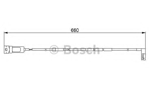Датчик износа тормозных колодок BOSCH 1 987 474 909