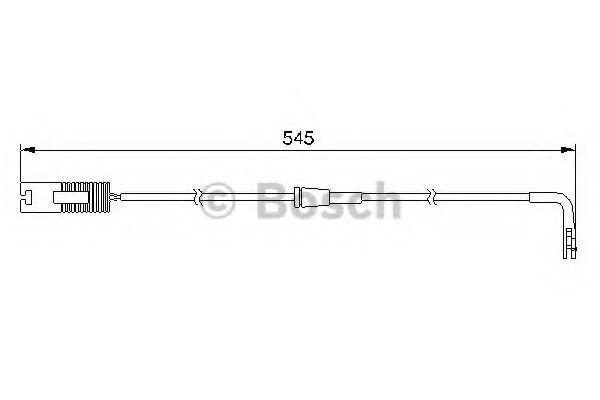 Датчик износа тормозных колодок BOSCH 1987474940