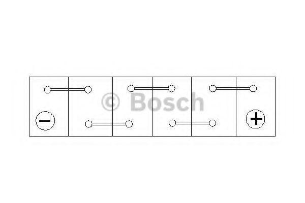 Изображение Аккумулятор S4 60Ач 540А BOSCH 0 092 S40 050: цена