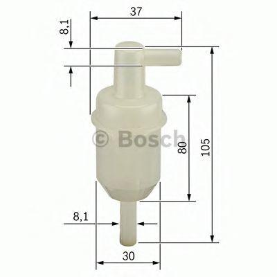 Фильтр топливный BOSCH 0 450 904 077