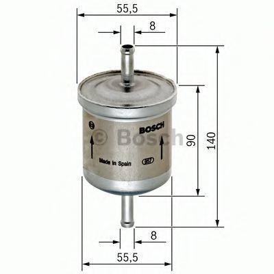 Фильтр топливный BOSCH 0450905280