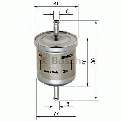 Фильтр топливный BOSCH 0 450 905 324