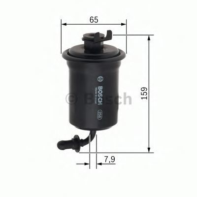 Топливный фильтр BOSCH 0450905958