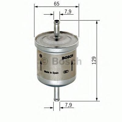 Топливный фильтр BOSCH 0450905974