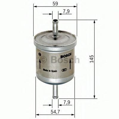 Фильтр топливный BOSCH 0450905976
