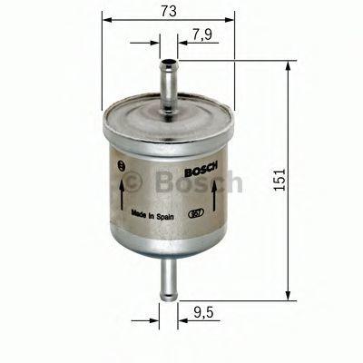 Фильтр топливный BOSCH 0 450 905 985