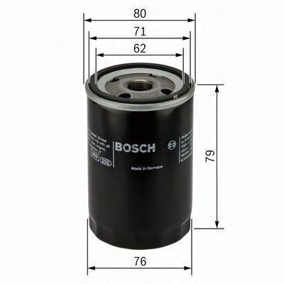 Фильтр масляный BOSCH 0451102056