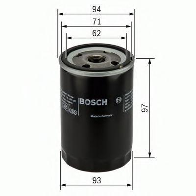Фильтр масляный BOSCH 0451103029