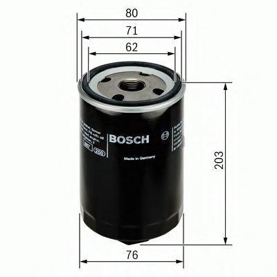 Фильтр масляный BOSCH 0451103338
