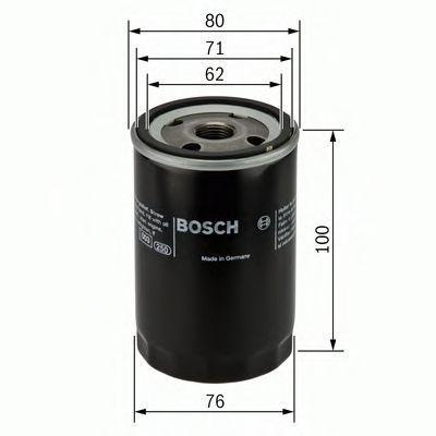 Фильтр масляный BOSCH 0451103352