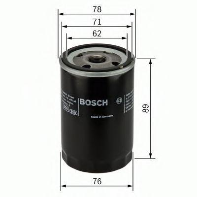 Фильтр масляный BOSCH 0451104026
