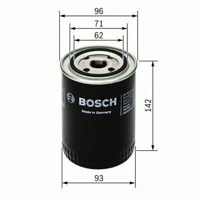 Фильтр масляный BOSCH 0451104063
