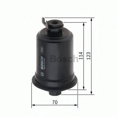 Топливный фильтр BOSCH 0986450107