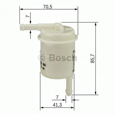 Топливный фильтр BOSCH 0986450138