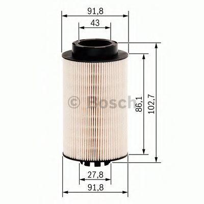 Фильтр топливный BOSCH 1457431707
