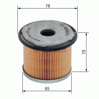 Фильтр топливный BOSCH 1457431712