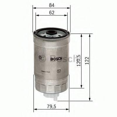 Фильтр топливный BOSCH 1457434435