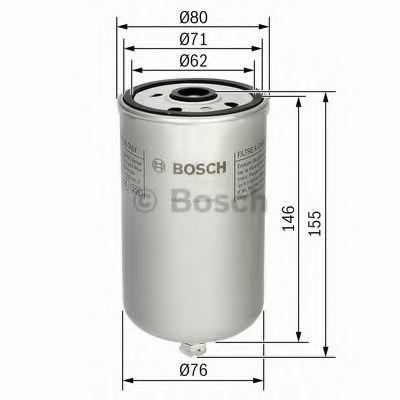 Фильтр топливный BOSCH 1457434447