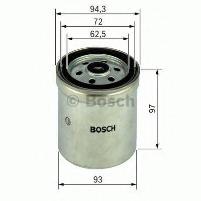 Фильтр топливный BOSCH 1457434452