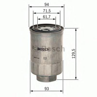 Фильтр топливный BOSCH 1 457 434 453