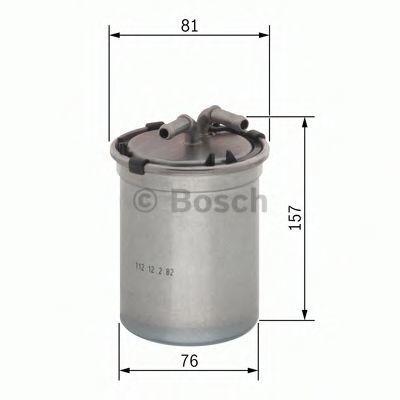 Фильтр топливный BOSCH F026402086