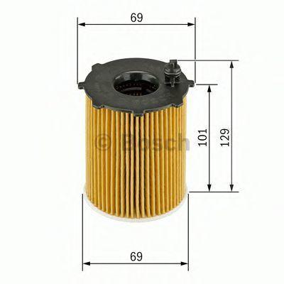 Фильтр масляный BOSCH F026407011